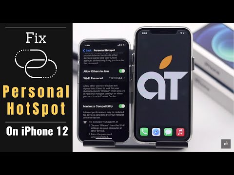 Personal HotSpot Not Working on iOS 14 - Fixed