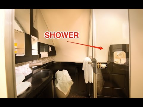 This $41K plane ticket comes with a shower, bed, and butler service - UCcyq283he07B7_KUX07mmtA