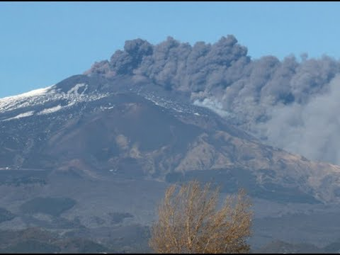 Breaking Earthquake Shakes Sicily After Mt. Etna Erupts 10 Hurt