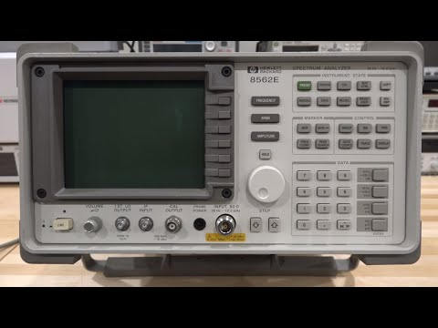 TSP #116 - Teardown, Repair & Experiments with an Agilent 8562E 30Hz - 13.2GHz Spectrum Analyzer - UCKxRARSpahF1Mt-2vbPug-g