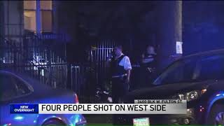 4 shot during West Side party
