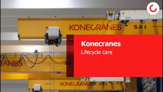 Konecranes Lifecycle Care in Real Time: Are you ready to connect?
