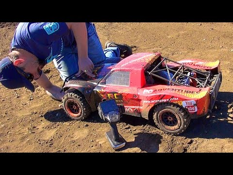 Project Large 2.0 CARNAGE on my Backyard Race Track! 1/5th scale LOSi 5T GAS POWER! | RC ADVENTURES - UCxcjVHL-2o3D6Q9esu05a1Q