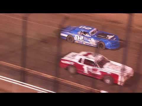 Perris Auto Speedway Street Stock Main Event 7-10 -21 - dirt track racing video image