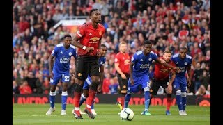 Paul Pogba Penalty Run Up