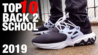 TOP 10 BACK to SCHOOL Sneakers on a BUDGET 2019