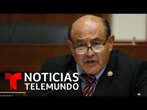 Atacan a insultos al congresista demócrata Lou Correa | Noticias Telemundo
