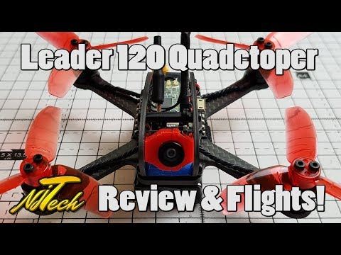 Leader 120 micro quadcopter - Review and Flight tests! 2S & 3S - UCpHN-7J2TaPEEMlfqWg5Cmg