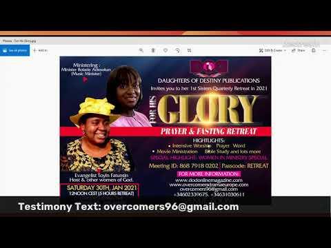 WOMEN IN MINISTRY WEEKLY PROGRAM-A NEW SEASON