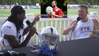 TY Hilton's Thought on Colts' QB Situation