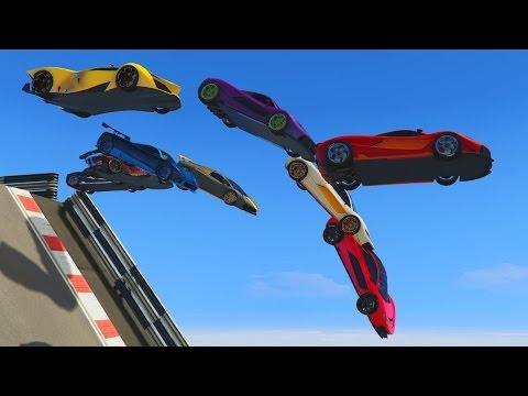 CAIDA LIBRE!!!! - CARRERA GTA V ONLINE - GTA 5 ONLINE - default