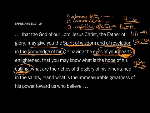 Ephesians 1:1719 // Part 5 // The Irrevocable Glory of Our Calling