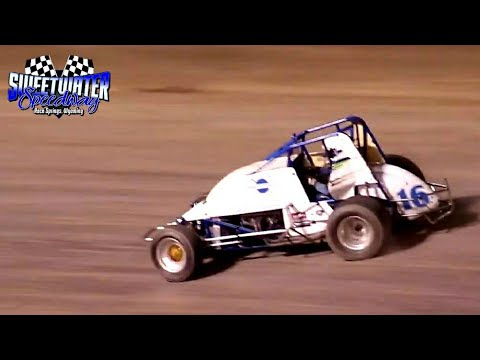Sweetwater Speedway Wingless Sprint Car Main Event 7/3/21 - dirt track racing video image