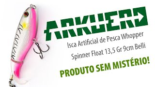 Isca Artificial de Pesca Whopper Spinner Float 13,5 Gr 9cm Belli