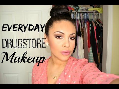 Everyday Drugstore Makeup Tutorial 2015 | JuicyJas - UCqTR5f7YkGro3cPv23SqcqQ
