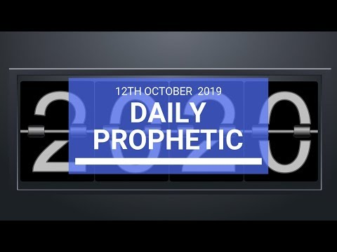 Daily Prophetic 12 October Word 2