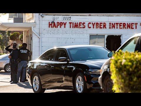 Cảnh sát Santa Ana bố ráp một quán cà phê, bị nghi có hoạt động băng đảng