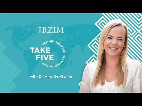 This phrase from Jesus shows the reality of the cross  Dr. Amy Orr-Ewing  TAKE FIVE  RZIM