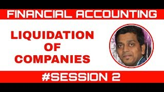 LIQUIDATION OF COMPANIES | PRACTICAL PROBLEM | FINANCIAL ACCOUNT