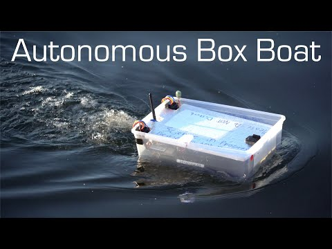 Autonomous Box Boat - Long Range Waypoint Mission - RCTESTFLIGHT - UCq2rNse2XX4Rjzmldv9GqrQ