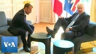 British PM Boris Johnson Feels at Home in France
