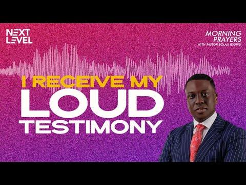 Next Level Prayers  I Receive My Loud Testimony  Pst Bolaji Idowu   5th July 2021