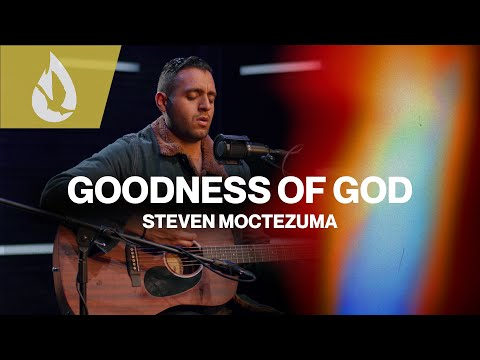 Goodness of God (by Bethel Music) with Lyrics  Acoustic Worship Cover by Steven Moctezuma