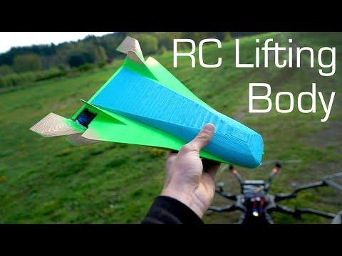 RCTESTFLIGHT - 3D Printed RC Lifting Body Aircraft? - UCq2rNse2XX4Rjzmldv9GqrQ