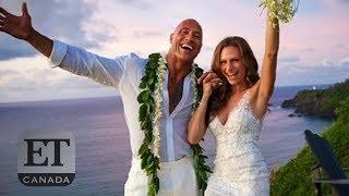Dwayne Johnson Marries Lauren Hashian