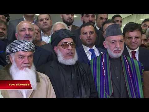 Taliban, phe đối lập muốn lực lượng nước ngoài rút khỏi Afghanistan (VOA)