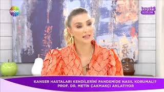 Prof. Dr. Metin Çakmakçı - Meme kanseri son gelişmeler ve Pembe Top Sahada -  Show TV