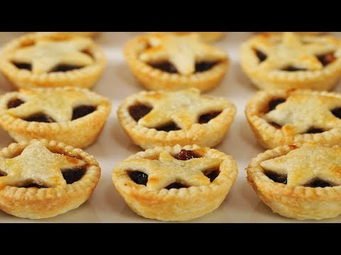 Mince Pies Recipe Demonstration - Joyofbaking.com