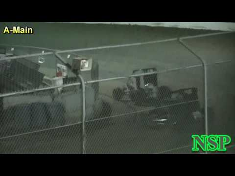 August 19, 2016 1200 Wingless Mini Sprints A Main - dirt track racing video image