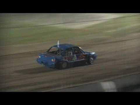 National 4's Feature - Lismore Speedway - 25.02.17 - dirt track racing video image
