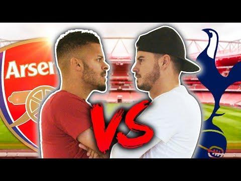 ARSENAL VS SPURS BATTLE! ft. ArsenalFanTV! - UCKvn9VBLAiLiYL4FFJHri6g