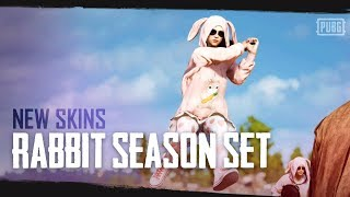 PUBG - New Skins - Rabbit Season Set 🐰🥕