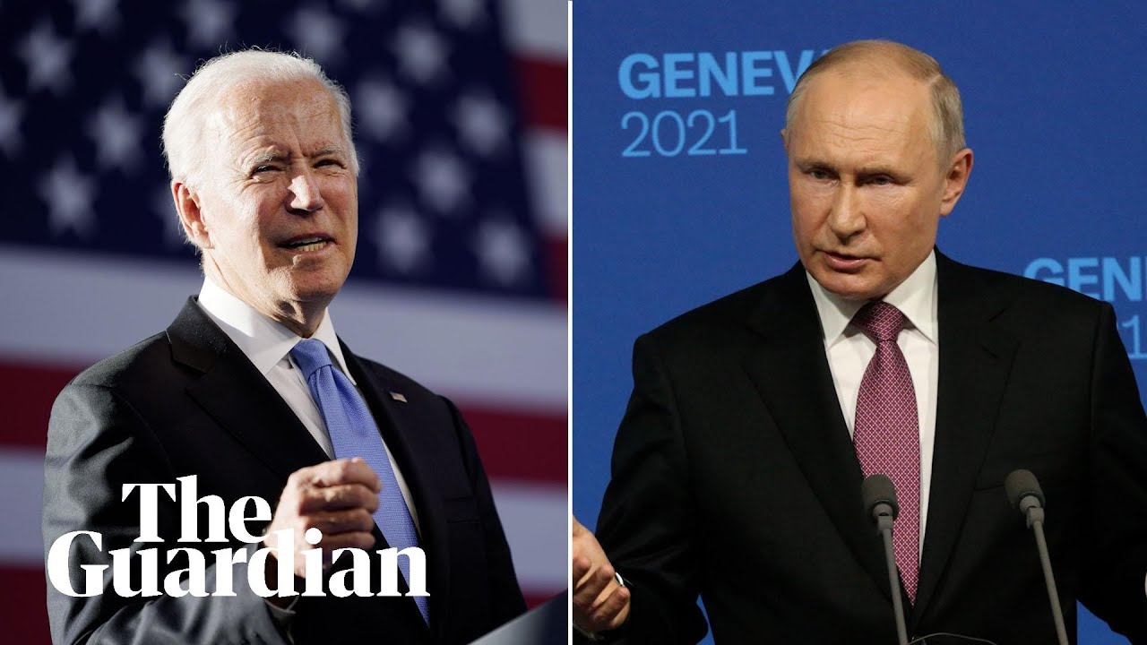 Biden rejects Putin's 'ridiculous comparison' between Capitol rioters and Alexei Navalny