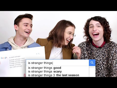 Millie Bobby Brown, Finn Wolfhard & Noah Schnapp Answer the Web's Most Searched Questions | WIRED - UCftwRNsjfRo08xYE31tkiyw