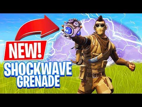 *NEW* SHOCKWAVE GRENADE!! // Pro Fortnite Player // 1,400 Wins // (Fortnite Battle Royale) - UC2wKfjlioOCLP4xQMOWNcgg