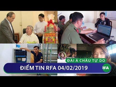 Điểm tin RFA tối 04/02/2019 | TPHCM hứa không di dời Nhà thờ và Nhà dòng Mến Thánh giá tại Thủ Thiêm