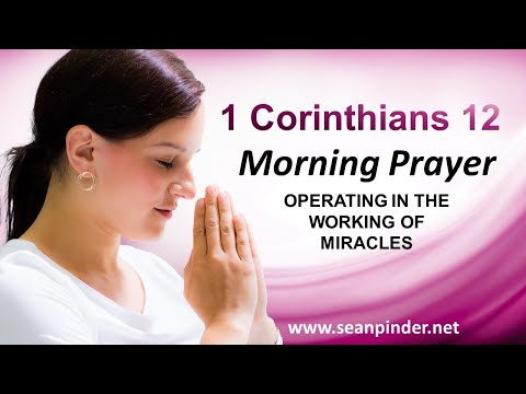Operating in the Working of MIRACLES - Morning Prayer