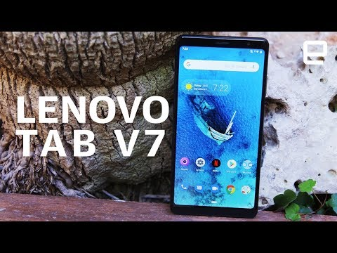 Lenovo Tab V7 Hands-On at MWC 2019: A massive mid-range phone - UC-6OW5aJYBFM33zXQlBKPNA