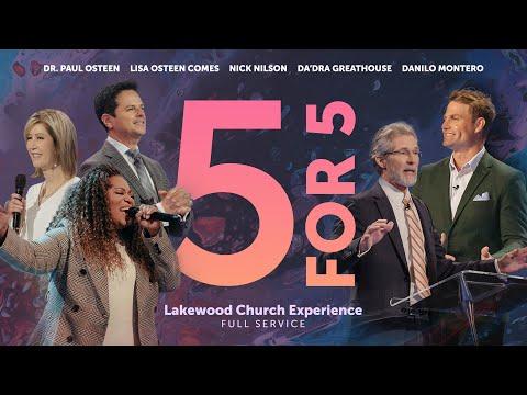 Lakewood Church Service    July 11, 2021