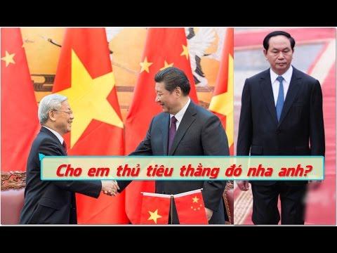 Nguyễn Phú Trọng nhận lệnh của Tập Cận Bình để thủ tiêu Trần Đại Quang