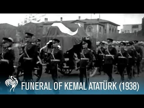 Mustafa Kemal Atatürk'ün Cenaze Töreni Videosu - 1938