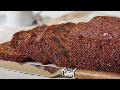 Easy Fruit Cake Recipe Demonstration - Joyofbaking.com