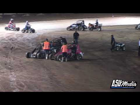 Speedcars: 2009/10 Super Series (Ronald Mackay Tribute) - Prelim A-Main - Maryborough - 01.01.2010 - dirt track racing video image