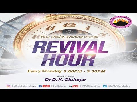 MFM REVIVAL HOUR - 30th August 2021 MINISTERING: DR D.K. OLUKOYA