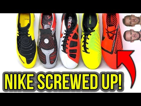 HOW NIKE MESSED UP BIG TIME WITH THEIR LATEST FOOTBALL BOOTS! - UCUU3lMXc6iDrQw4eZen8COQ