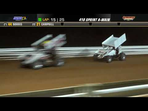 Selinsgrove Speedway | 75th Anniversary 410 Sprint Car Highlights | 7/20/21 - dirt track racing video image